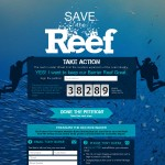 Campaña de Greenpeace Australia para salvar la Gran Barrera de Coral del carbón